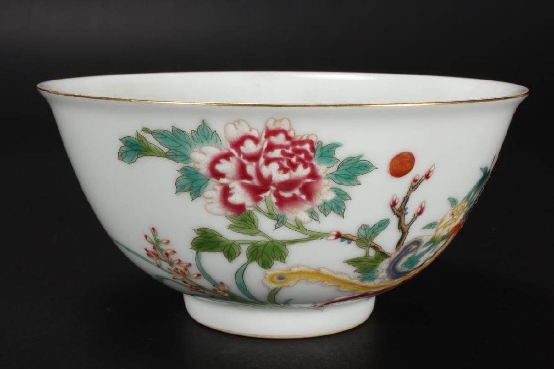 Pair of Chinese Porcelain Bowls, - 3