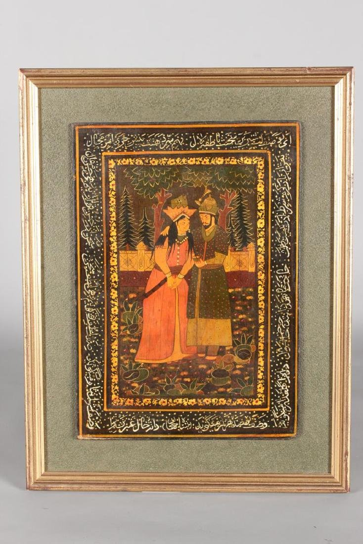 Indian Hand Painted Panel,
