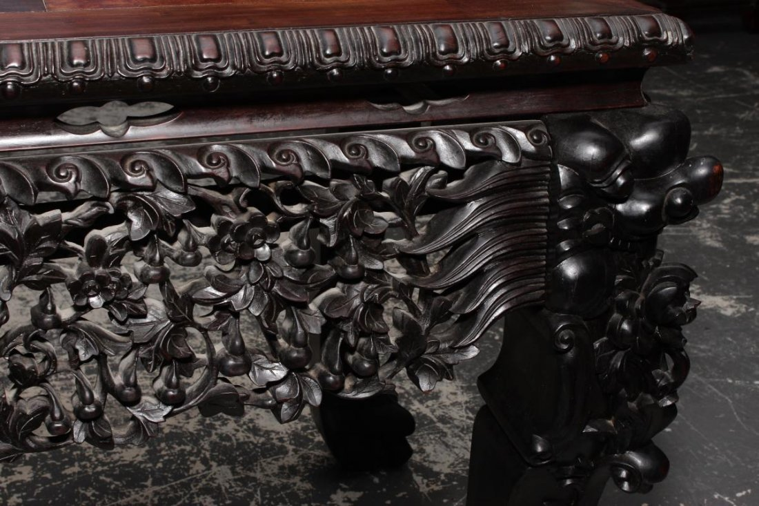 Magnificent Chinese Altar Table, - 10