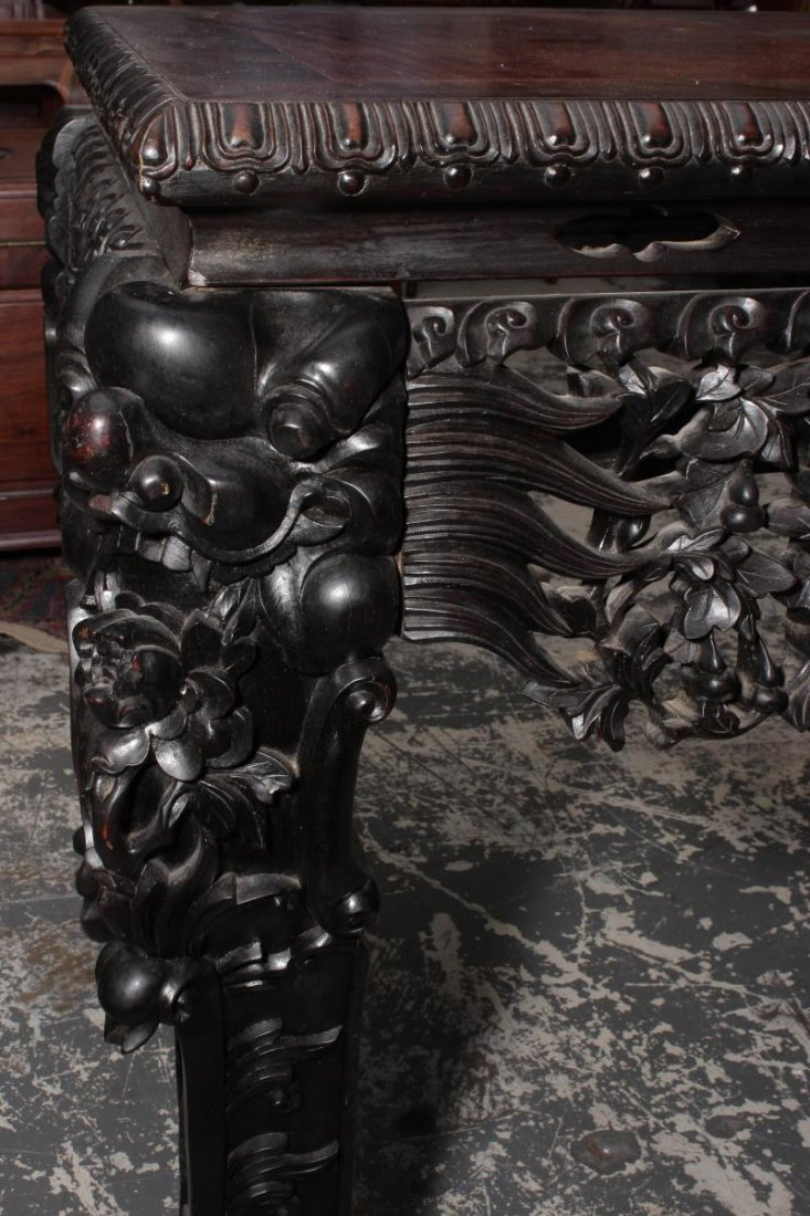 Magnificent Chinese Altar Table, - 3