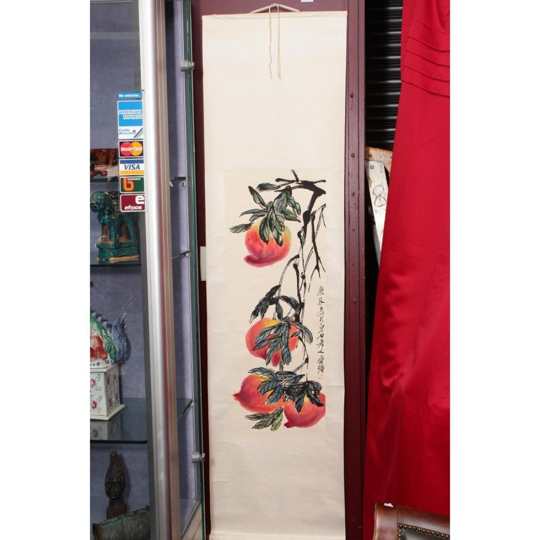 Chinese Scroll, - 2