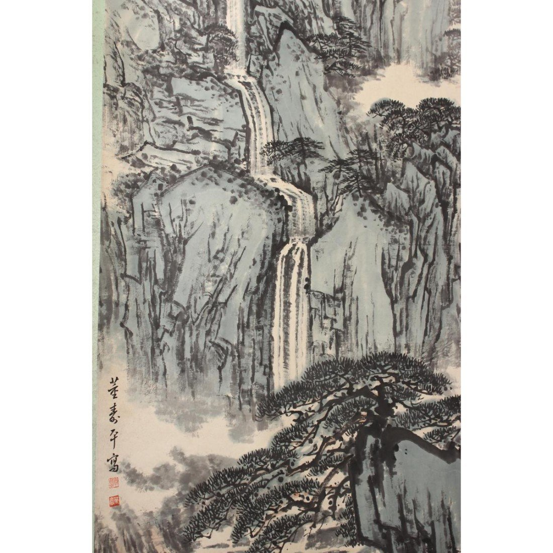 Chinese Scroll, - 2