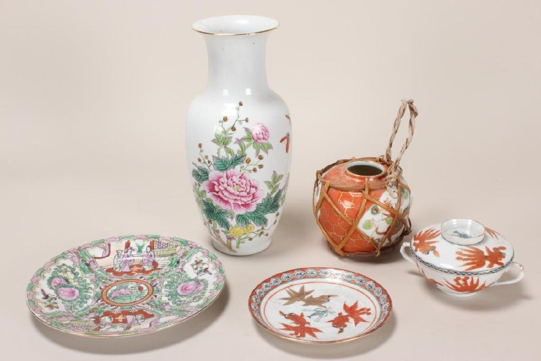 Group of Assorted Chinese Porcelain,