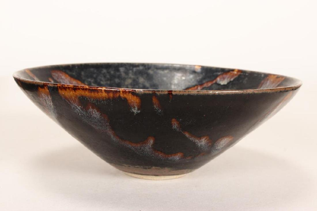 Chinese Pottery Bowl, - 4