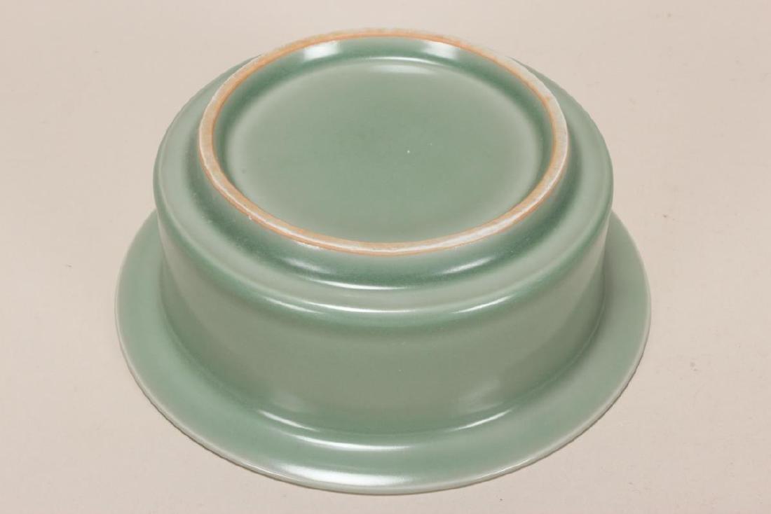 Chinese Celadon Bowl, - 2