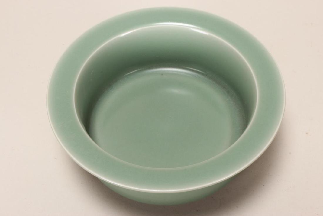Chinese Celadon Bowl, - 3
