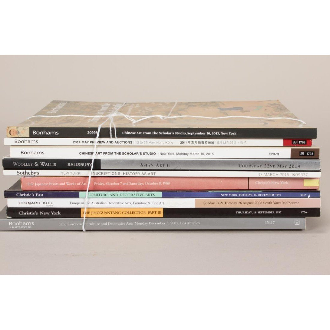 Quantity of Assorted Catalogues, - 2