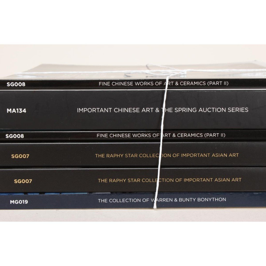 Assorted Moss Green Catalogues, - 2