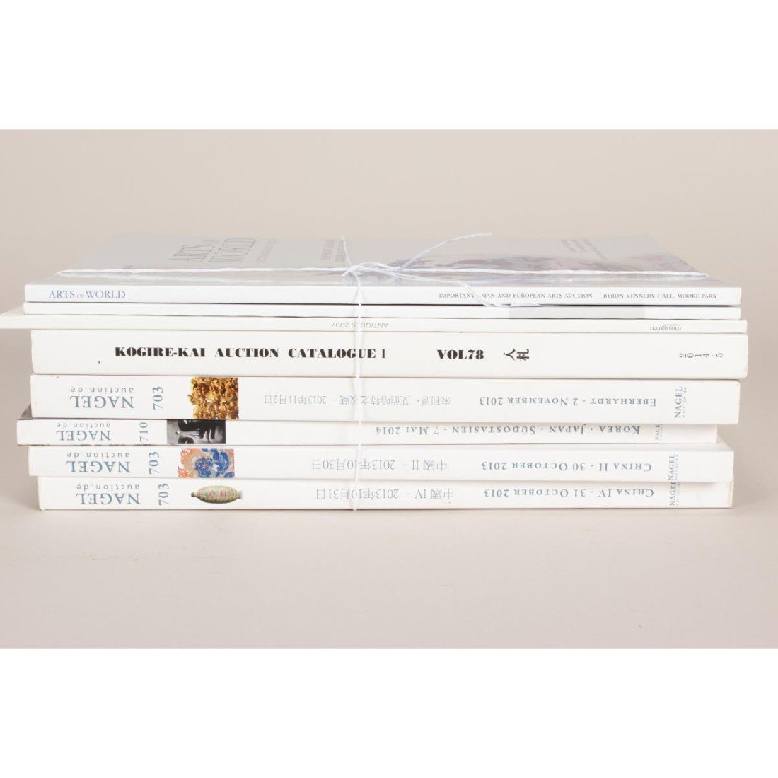 Assorted Nagel Auction Catalogues, - 2