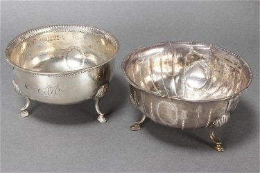 Irish Sterling Silver Footed Bowl