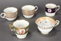 18th Century Derby Porcelain Coffee Can,