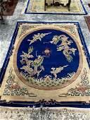 Large Chinese Tien Sen Floor Rug
