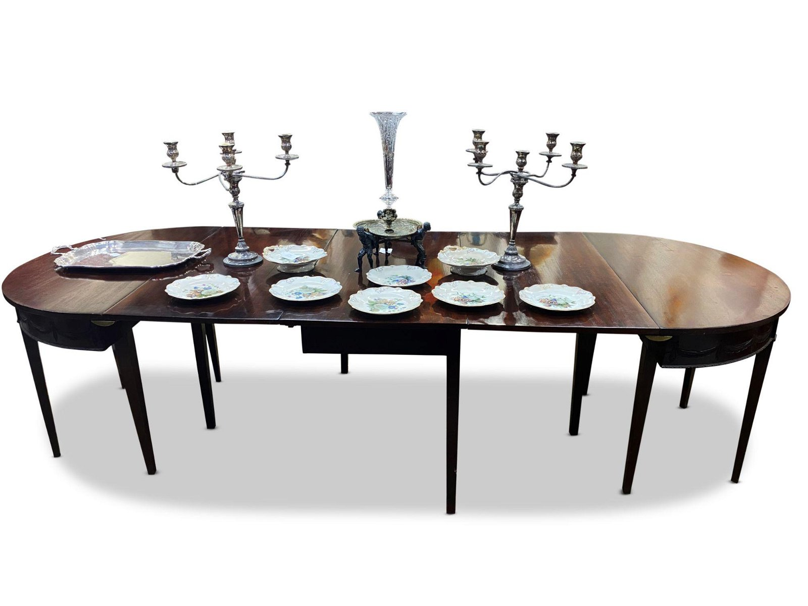 Good Georgian Extension Dining Table,