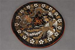 Chinese Late Qing Embroidered Silk Purse