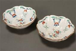Good Pair of 18th Century Kakiemon Dishes,