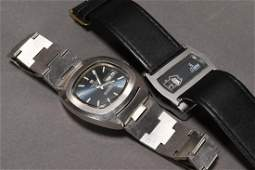 Two Retro Gent's Swiss Watches,