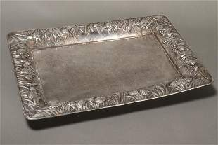 Lovely Japanese Silver Tray,
