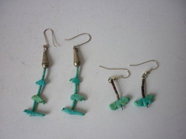 2: Two Pair of Fetish Earrings