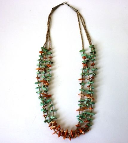 23: Triple Strand Necklace c.1960 in