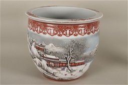 Good Chinese Porcelain Jardiniere,