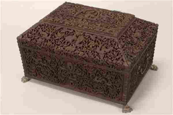 Wonderful 19th Century Colonial Indian Box,