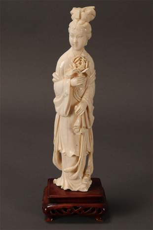 Chinese Carved Figure,
