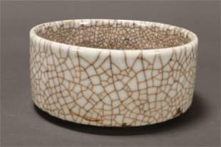 Early Chinese Ge Ware Bowl,