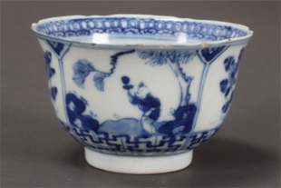 Chinese Kangxi Period Blue and White Porcelain