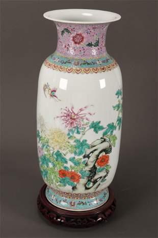 Large Chinese Porcelain Vase,