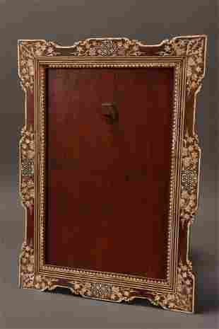 Late 19th/Early 20th Century Indian Inlaid Frame,