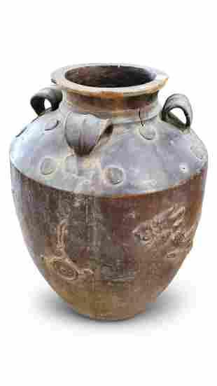Large Martaban Storage Jar,