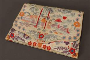 Chinese Embroidered Purse,