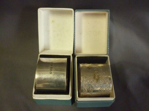 Victorian Sterling Silver Napkin Ring,