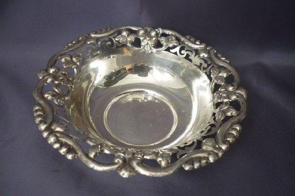 9: Silver Bon Bon Dish,