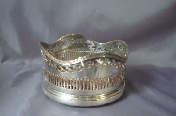 20: Good 19th Century Sheffield Silver Plate Decanter