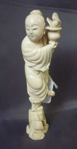 367: Chinese Carved Ivory Figure,
