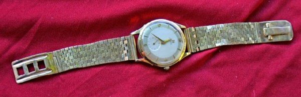 567: Omega 9ct Gold Automatic Wristwatch, c.1960