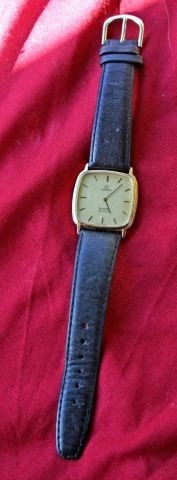 569: Omega Quartz Wristwatch, c.1980