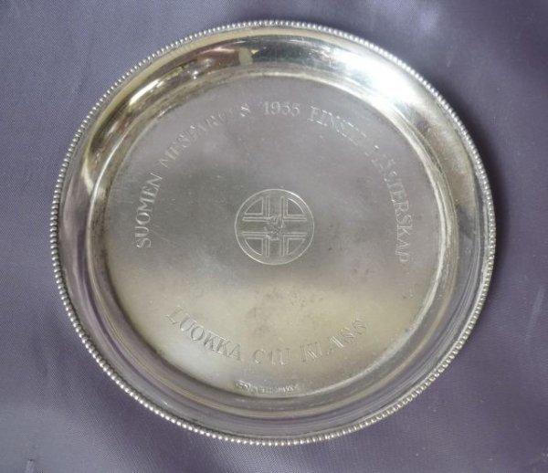11A: Finnish Silver Circular Coaster,