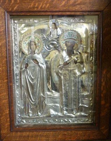 15: Fine and Rare 19th Century Russian Silver, Enamel