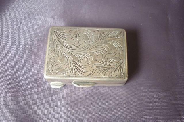 5A: Continental Silver Snuff Box,
