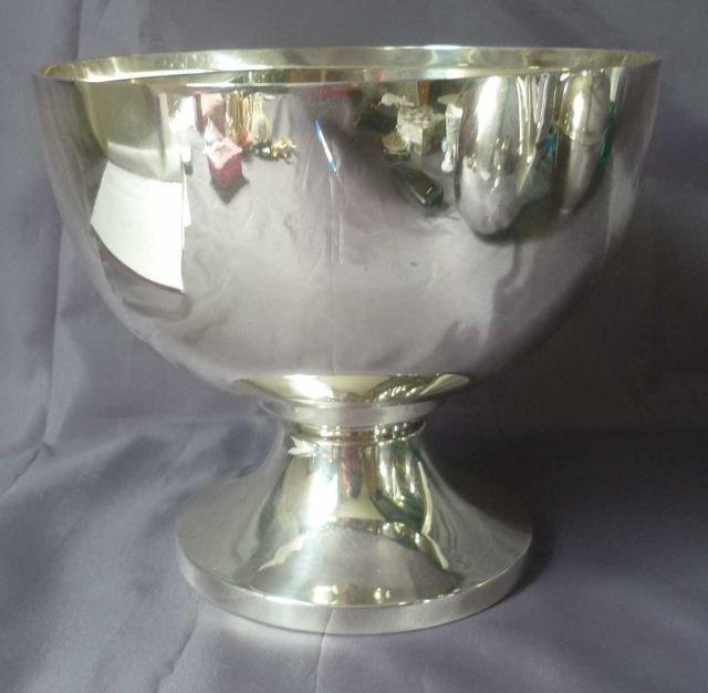 10A: George IV Sterling Silver Pedestal Bowl,