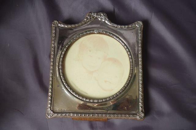 19: Edwardian Sterling Silver Frame,