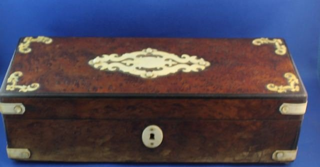 Good William IV Glove Box and Cover,
