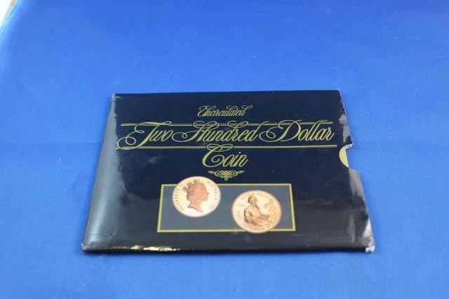 Australian Mint $200 22ct Gold Coin,