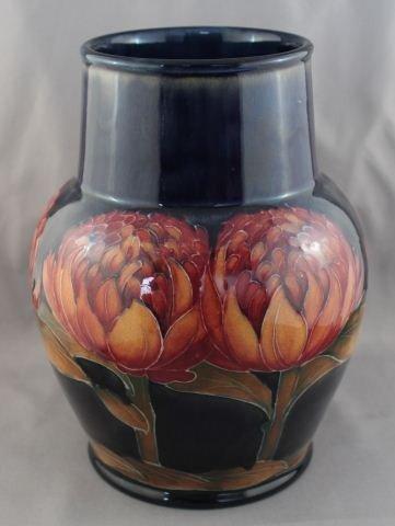 Rare Moorcroft Waratah Vase, c.1935