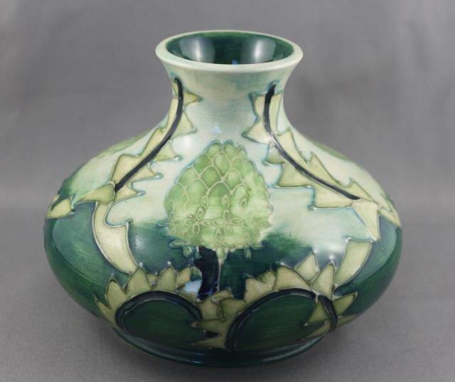 Moorcroft Porcelain Banksia Vase,