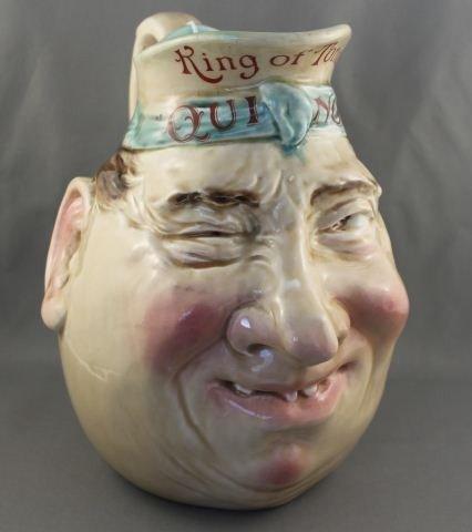 "Rare French Sarregueines""Quinol King of Tonics"""