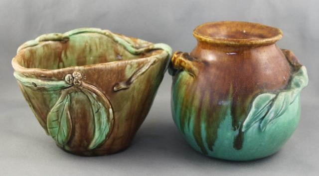 Two Australian Pottery Vases,