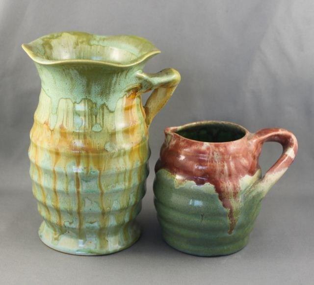 Two Remued Australian Pottery Jugs,